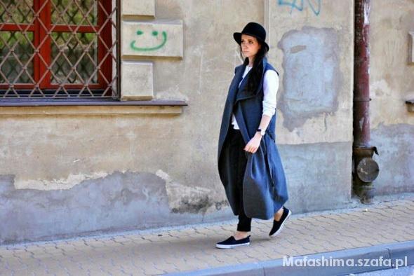 Blogerek długa kamizelka