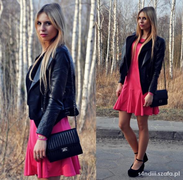 Blogerek PINK DRESS