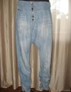 Spodnie baggy jeansowe
