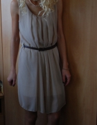 sukienka nude SM