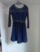 koronkowa sukienka H&M...