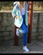 spodnie wysoki stan xs