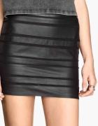 Spódnica mini skóra H&M Zara