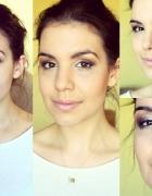 makijaż w złocie