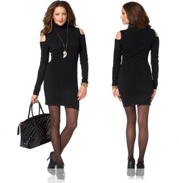 d7369b0f51 Melrose NOWA sukienka wycięcia na ramiona XS 32 34 w Suknie i ...
