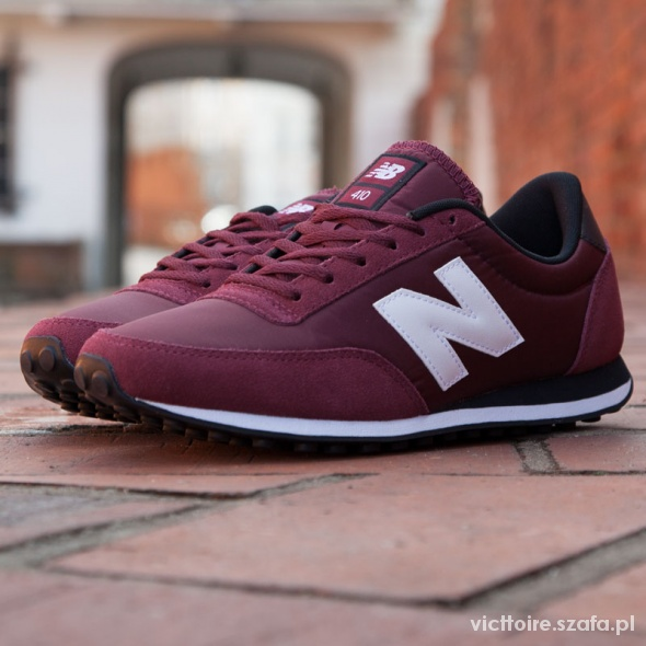 new balance bordowe