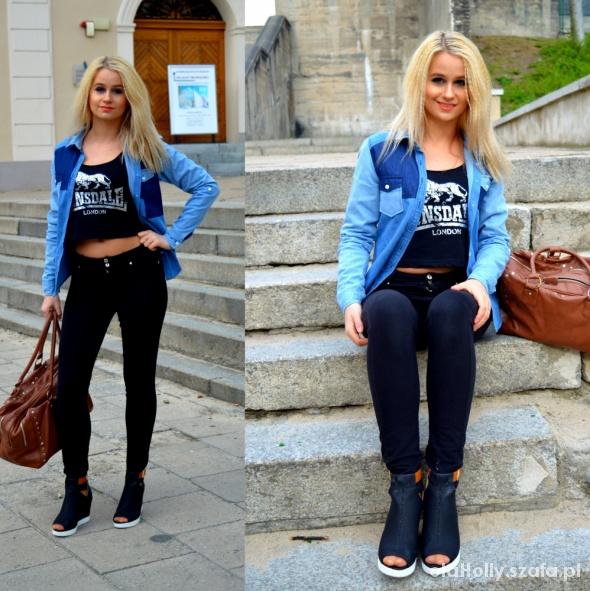 Blogerek Black and Blue