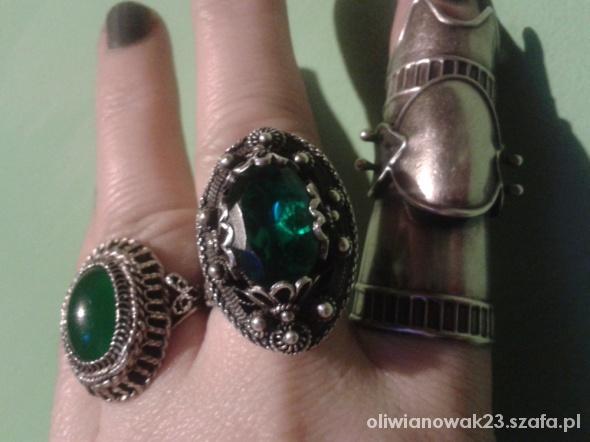 Pierścionki srebrny pierścień Arabeli