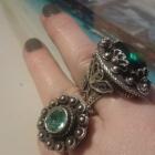 srebrny pierścień Arabeli