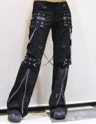 Spodnie punk rave czarne...