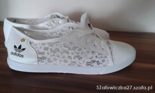 adidas trampki białe