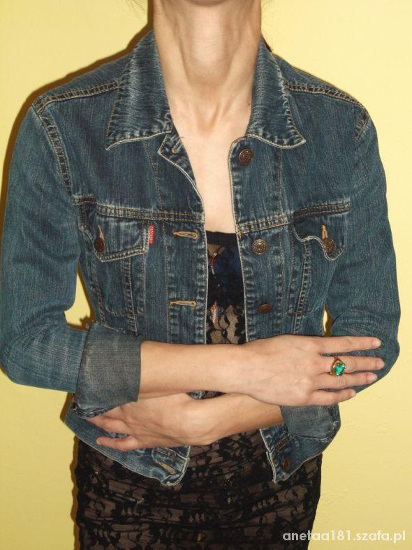 Ramoneska kurtka jeans
