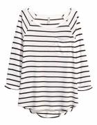 H&M bluzka w paski luźna