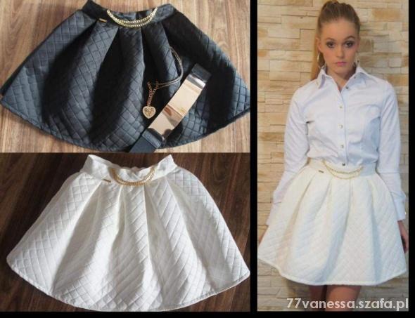 Ubrania spódnica pikowana