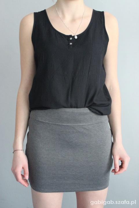 Spódnice Mini szaro