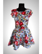 piękna kwiecista sukienka xs...