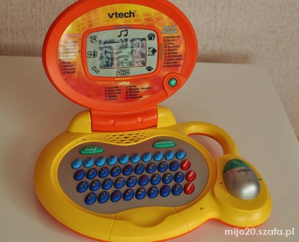 Zabawki Interaktywny laptop vtech komputer zabawka fr