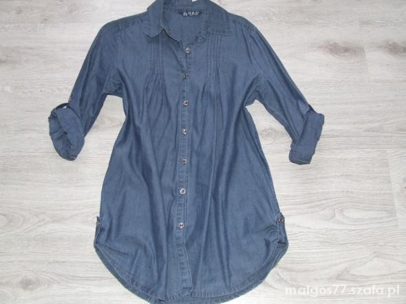 Koszula jeansowa roll up