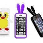 POKROWCE IPHONE 4S pokrowiec królik