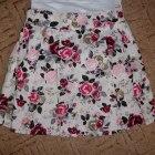 Spódnica w kwiatki