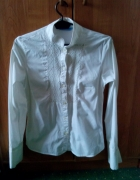 biała Zara M koszula