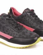 Sportowe buty damskie adidasy panterka