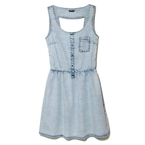 Ubrania Sukienka jeansowa house L