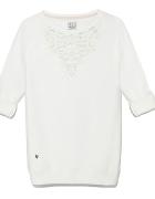 Biała bluza koronka house rozmiar M...