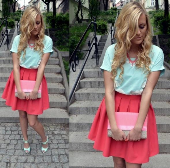 Wasze inspiracje różowa spódnica