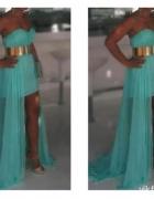 Sukienka przód krótki tył długi