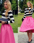 Striped top & skirt...