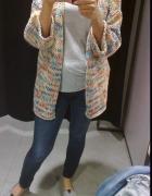 sweterek zara kolorowy wiosna lato