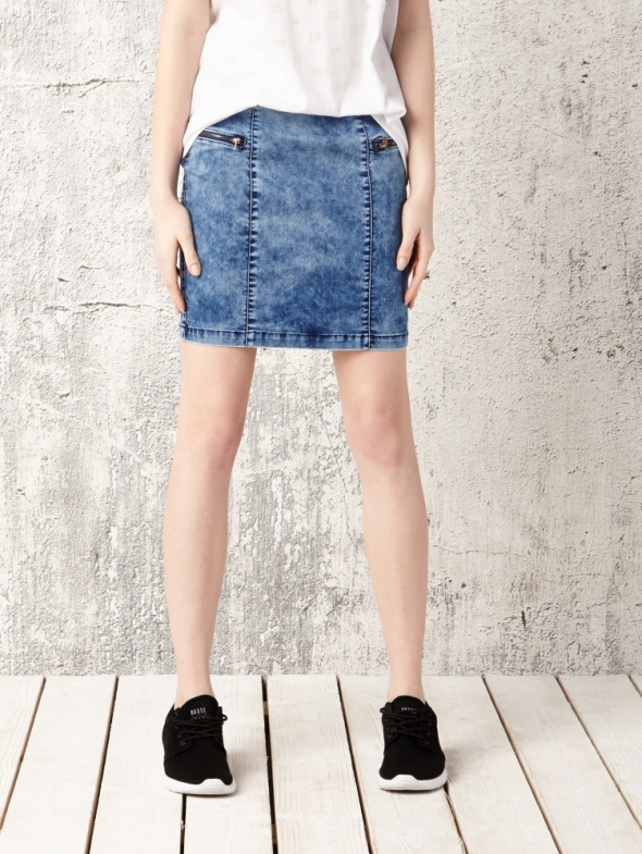 Ubrania spódnica jeansowa house