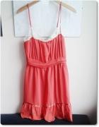 ASOS koronkowa sukienka 38 M lato Siwiec