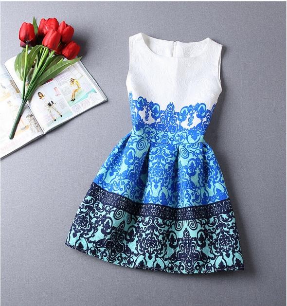 żakardowa sukienka...