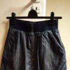 Jeansowa bawełniana spódnica mini C&A guziki 34