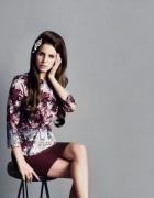 Lana del Rey dla H&m bluzka...