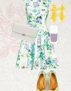 Kwiecista sukienka orsay szukam...