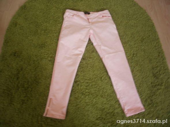 spodnie zipem