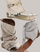 japonki sandały do kostki