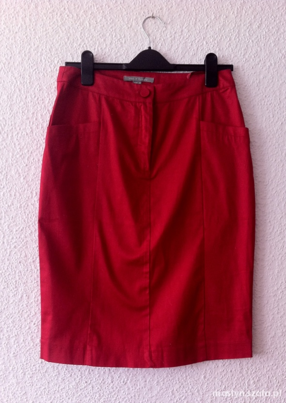 Spódnice Philip Russel Czerwona spódniczka M