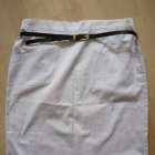 Biała spódnica M