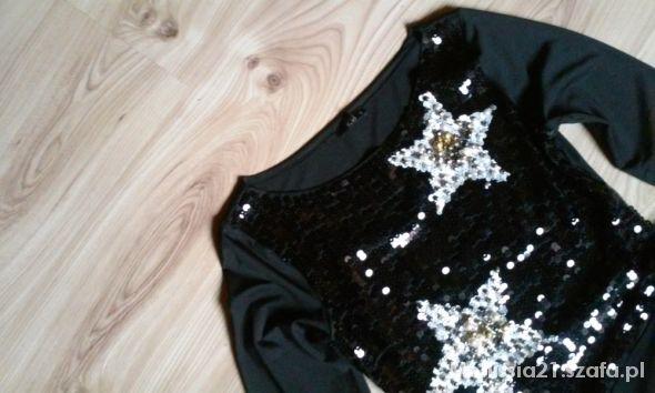 piękna błyszcząca sukienka CUDO