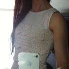koronkowa biała mini sukienka