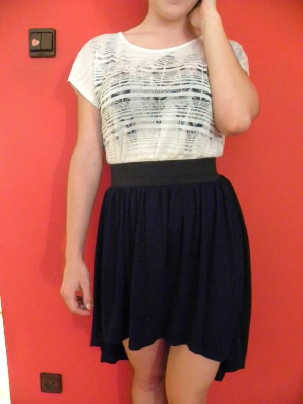 Spódnice letnia spódnica na gumce 36
