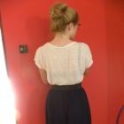 letnia spódnica na gumce 36