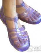 Meliski sandały przezroczyste kąpielowe