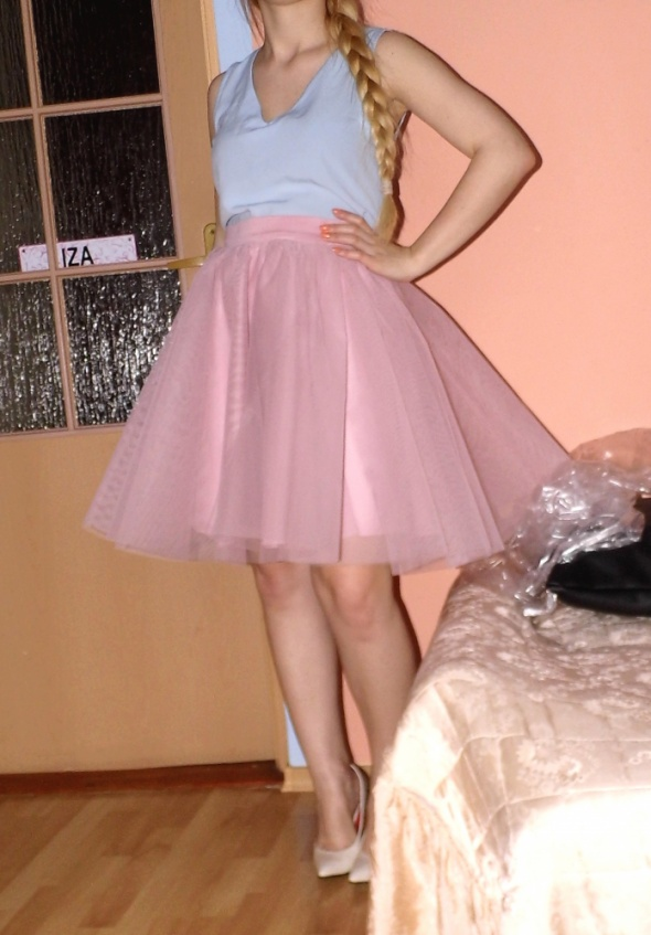 Romantyczne moja spodnica tiulowa