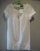 biała sukienka styl boho