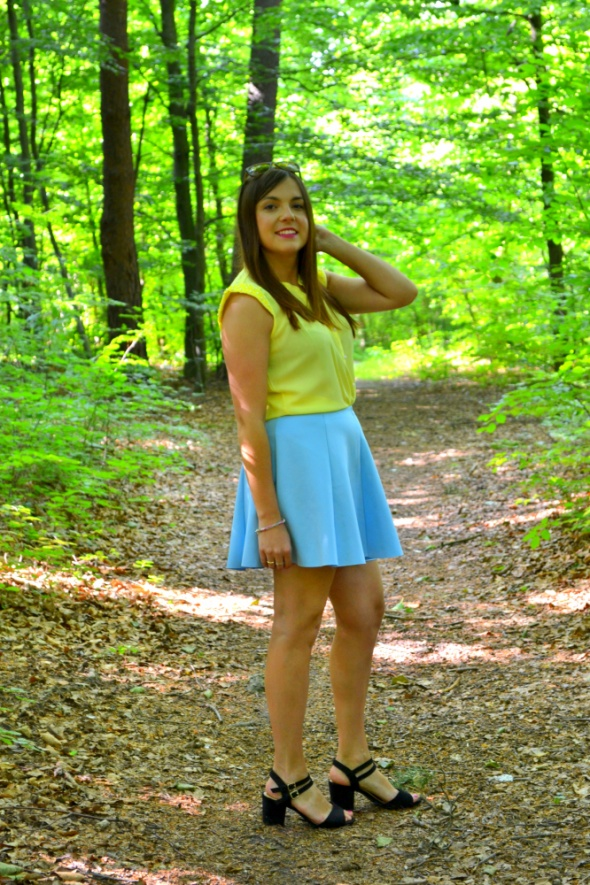 Blogerek kolorowy zestaw na lato